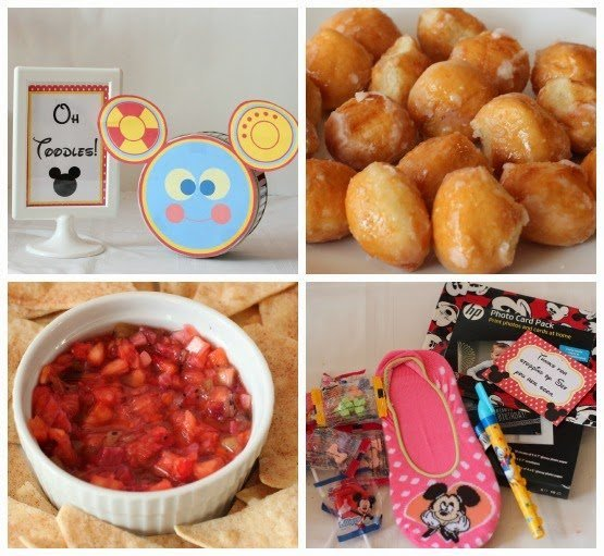 Mickey Mouse Clubhouse Party Ideas and Free Printables from playpartypin.com #Disney #party #freeprintables #MickeyMouse