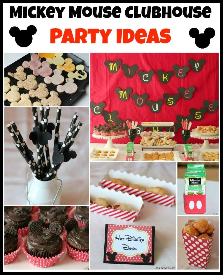 Free Mickey Mouse Clubhouse Party Ideas