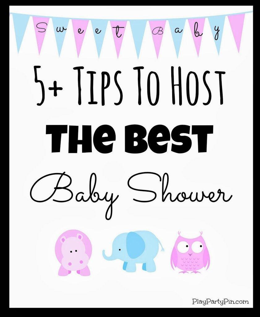 Five Tips To Host The Best Baby Shower From Playpartyplan.com #babyshower  #parties