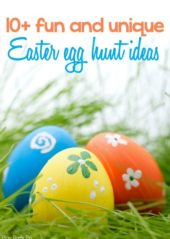 Love these fun and unique Easter egg hunt ideas, great Easter Egg hunt ideas for older and younger kids! I absolutely love #7!