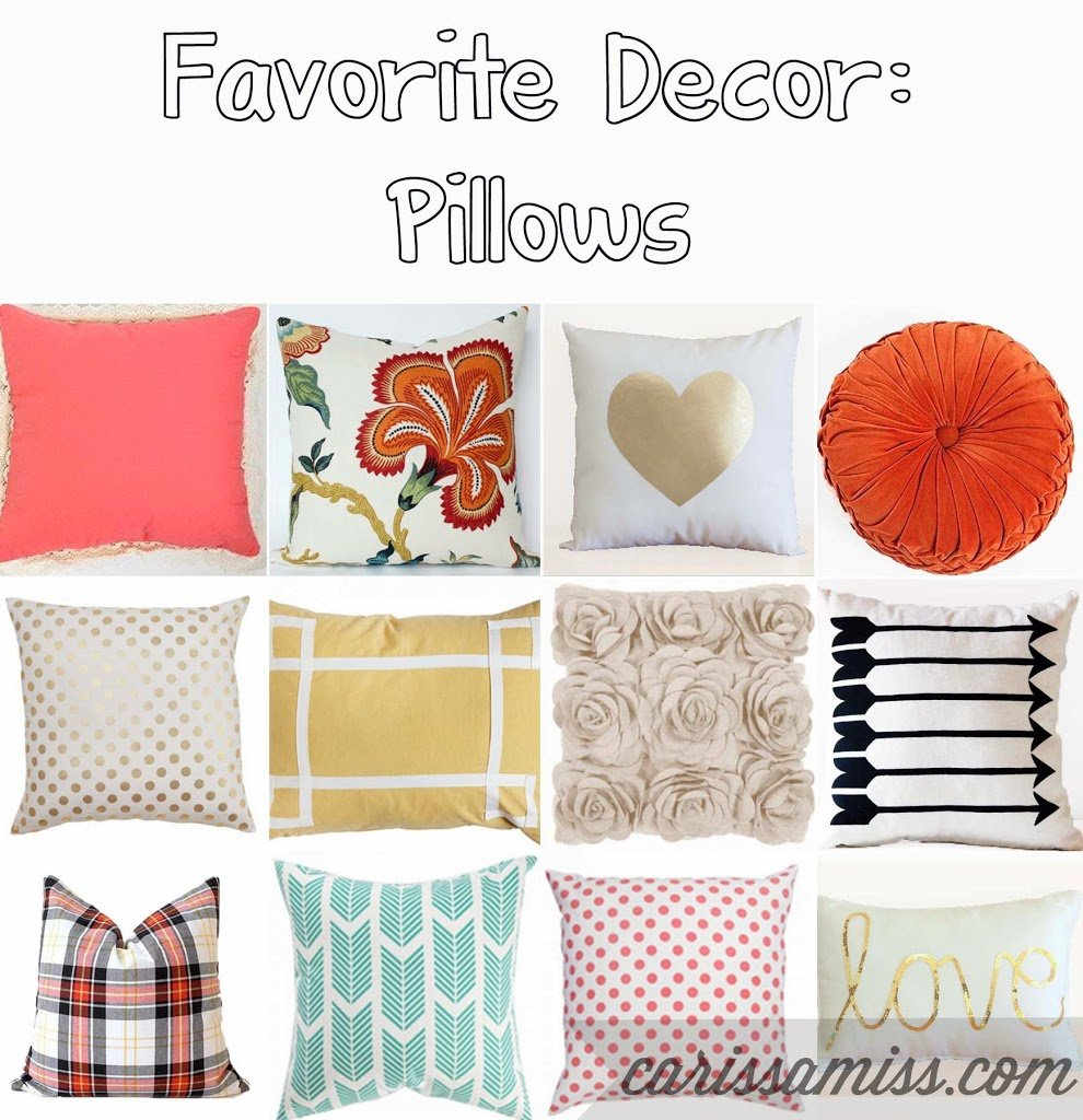 Favorite pillows and where to buy them on playpartyplan.com
