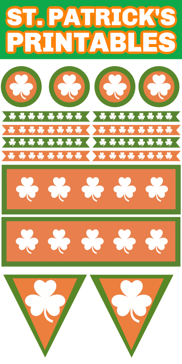 Free St. Patrick's Day party printables and fun party ideas to help make St. Patrick's Day one magical night!
