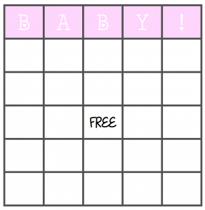 picture about Printable Baby Shower Bingo identified as 3 Best Youngster Shower Game titles