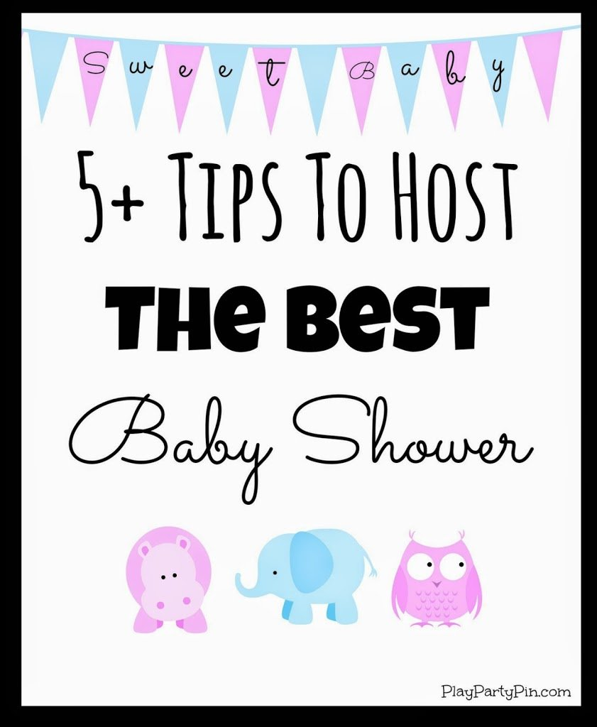 Three Great Baby Shower Games