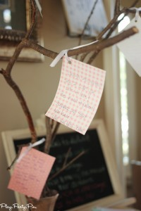 Bride advice tree from playpartyplan.com