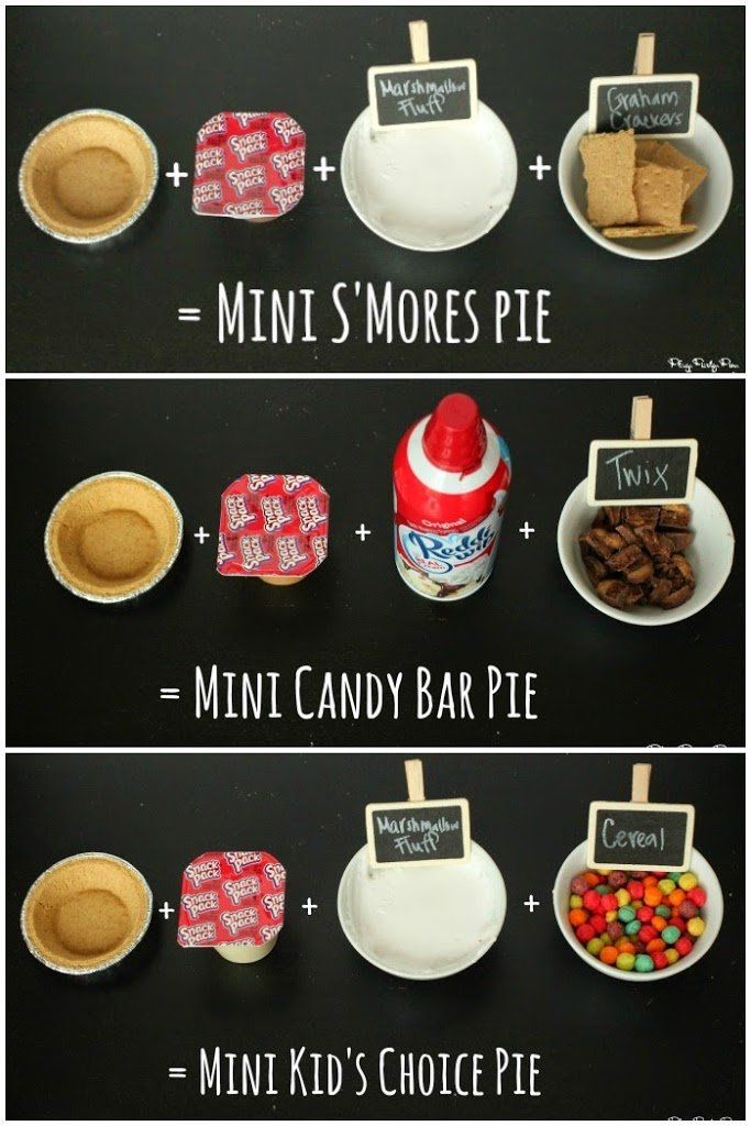 Make Your Own Mini Pie Bar - Play Party Plan