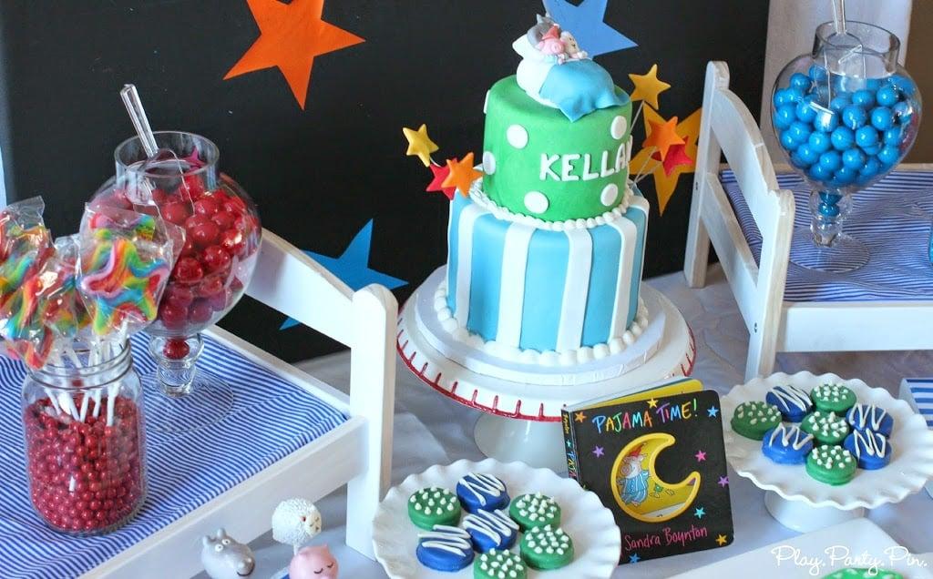 Pajama Time 1st Birthday Party Ideas PlayPartyPlan