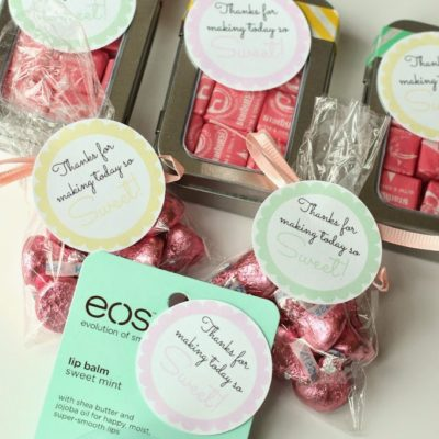 Simple Baby Shower Favor Idea and Printable