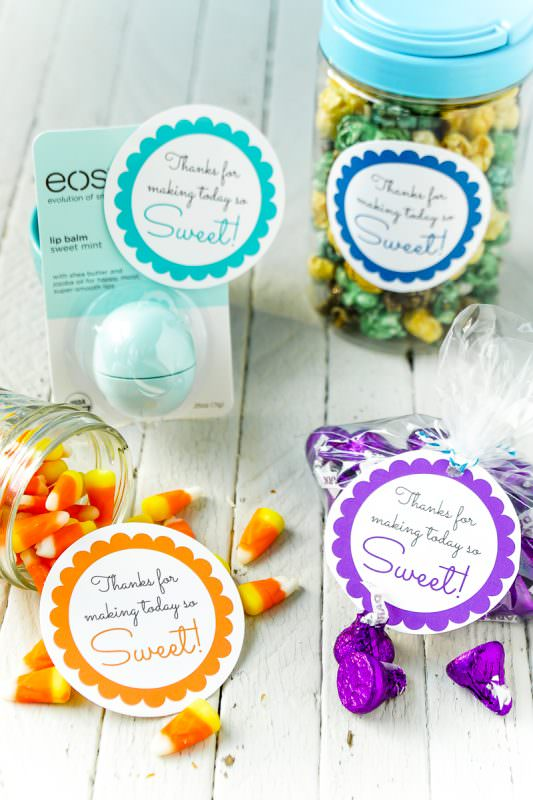 Simple baby shower party favors you can make at home