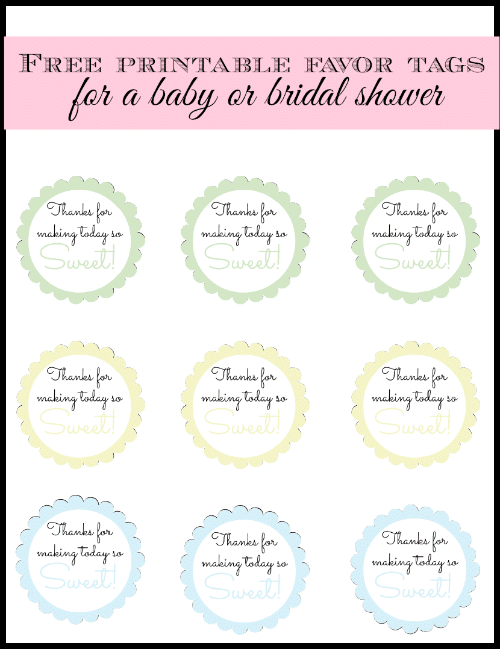 Free printable baby shower thank you tags search results calendar 2015 for Printable baby shower favor tags