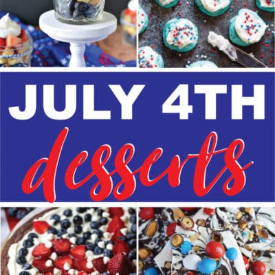 The Best Red White and Blue Desserts