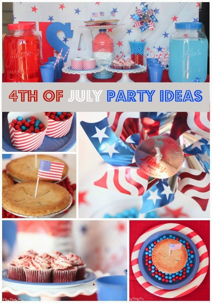 Easy 4th of July party ideas on a budget from playpartypin.com