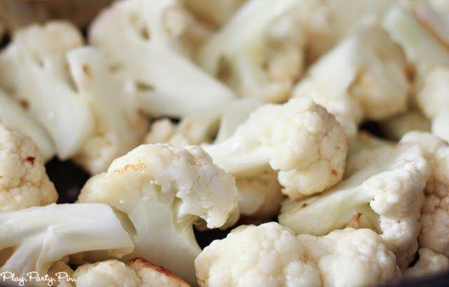 Sauteed cauliflower with dates & olives: fotografía de Jaleo ...