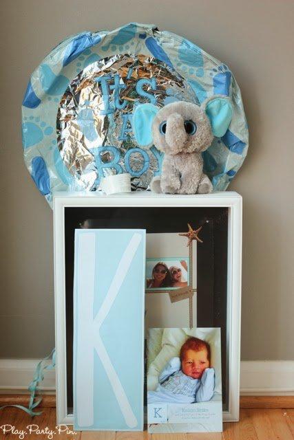 Baby Shadow Box Using Wallternatives Play Party Plan