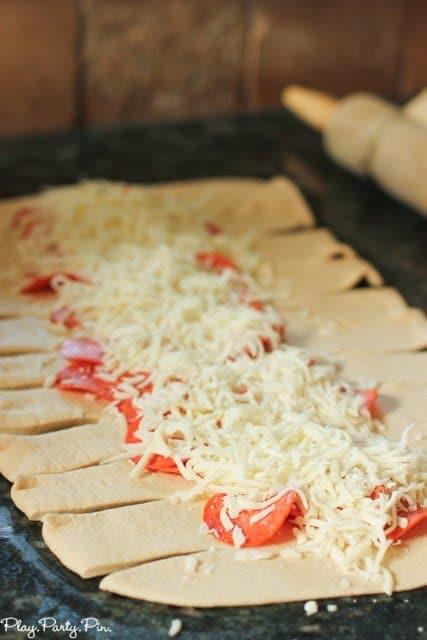 Pizza loaf recipe