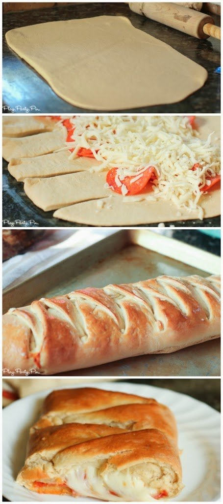 Pizza loaf recipe, perfect with pizza or sandwich toppings