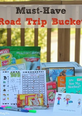 Must-Have Road Trip Bucket Ideas & Giveaway