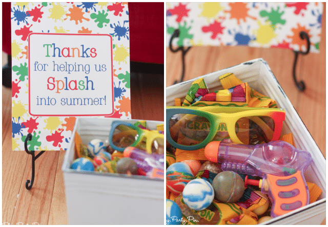 Perfect splash party favor ideas for kids of all ages