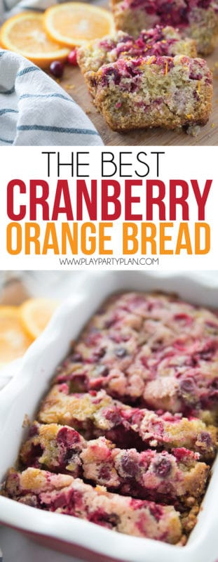 This is the best cranberry orange bread recipe! It's easy to make, incredibly moist, and delicious whether you make it in mini loaves, muffins, or regular loaves! Just make sure to make double because it'll be gone in minutes!