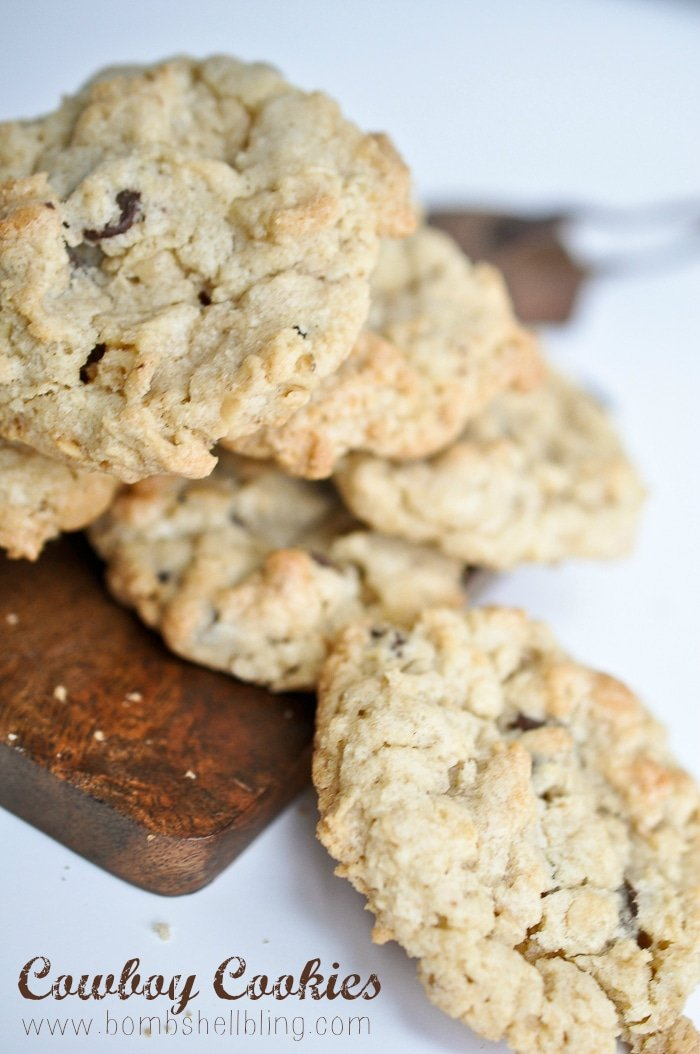 ... Cowboy Cookies is SUCH a taste treat --- and the best raw cookie dough