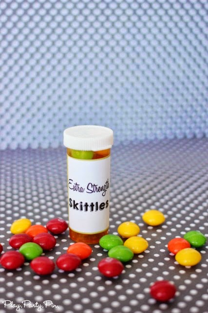 Extra strength skittles, perfect for a friend who just needs a boost, free printable from playpartyplan.com