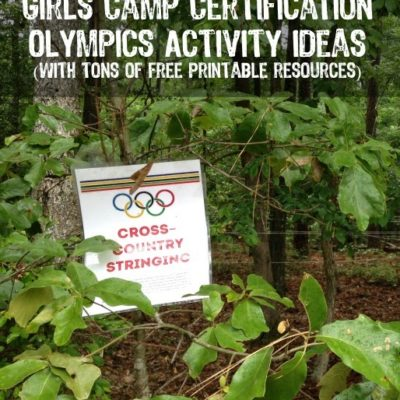 Girls Camp Certification Ideas: Certification Olympics