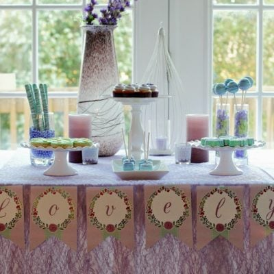 Lovely in Lavender DIY Spa Party