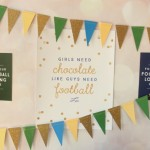 Chocolate and Football Party Ideas