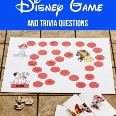 Free Disney Board Game and Trivia Questions
