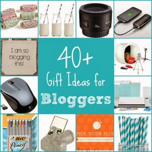 40+ gift ideas and stocking stuffers for bloggers from playpartyplan.com #gifts #stockings #blogger