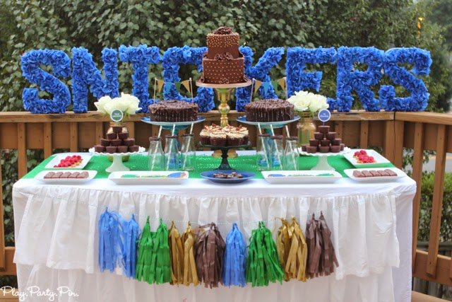Incredible chocolate party ideas from playpartyplan.com, perfect for a girls night or girls party #Chocolate4thewin #shop