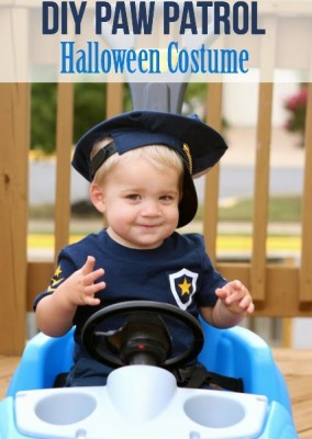 Paw Patrol Halloween Costume Tutorial