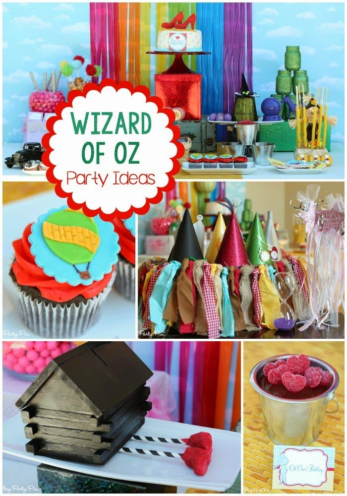 Wizard Of Oz Themed Party Decorations