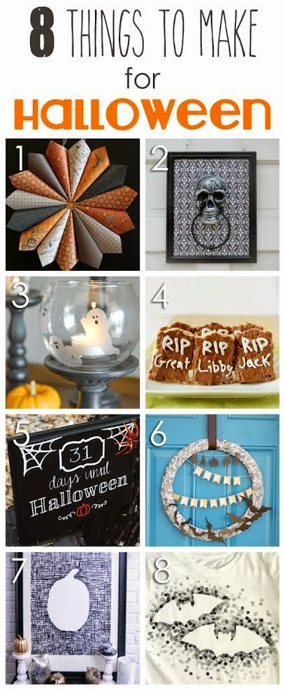8 Great Halloween Ideas via playpartyplan.com