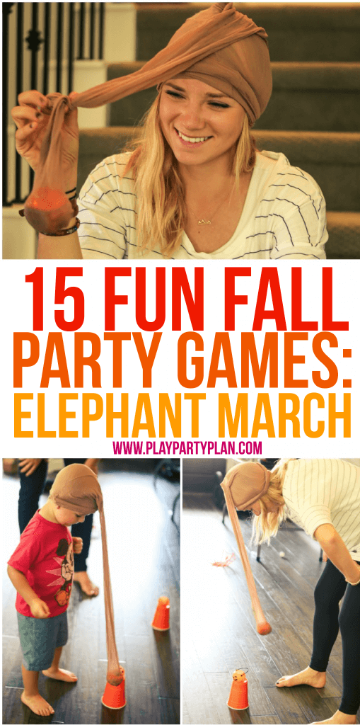 Elephant March is one of the best fall party games