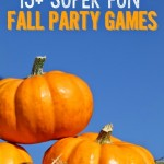 15+ Fall Party Games and Minute to Win It Ideas