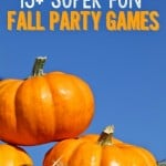 15+ fun fall party game ideas, minute to win it style