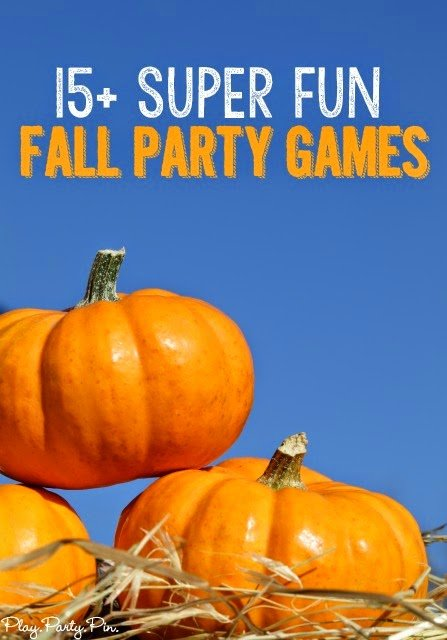 Super fun fall party games