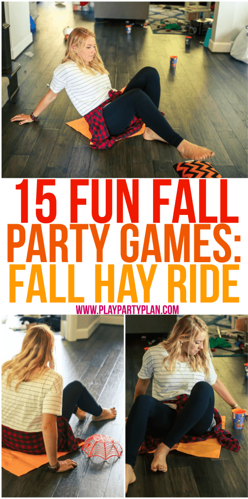 Fun fall games for large groups of people