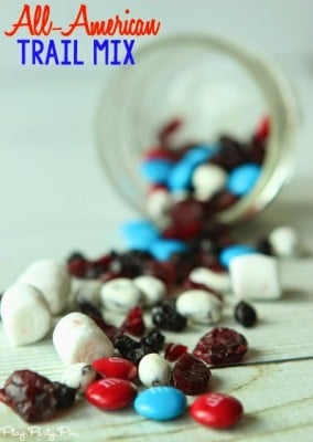 Red, White, and Blue Trail Mix Recipe