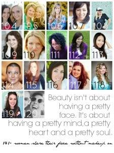beauty and bravery - women wearing no makeup - Brassyapple.com