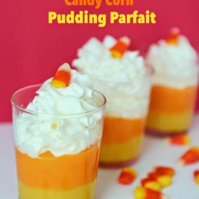 Easy Snack Pack Candy Corn Pudding Cups