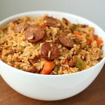 Easy and delicious jambalaya recipe perfect for a quick weeknight meal for the family