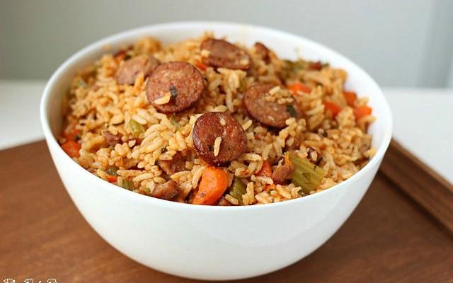 Easy Cajun Sausage Jambalaya