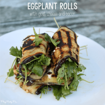 Grilled Eggplant Rolls