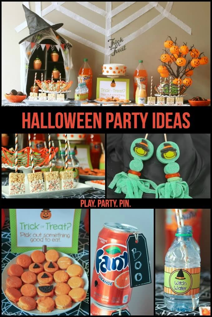 Great Halloween party ideas for toddlers and Halloween playgroup ideas