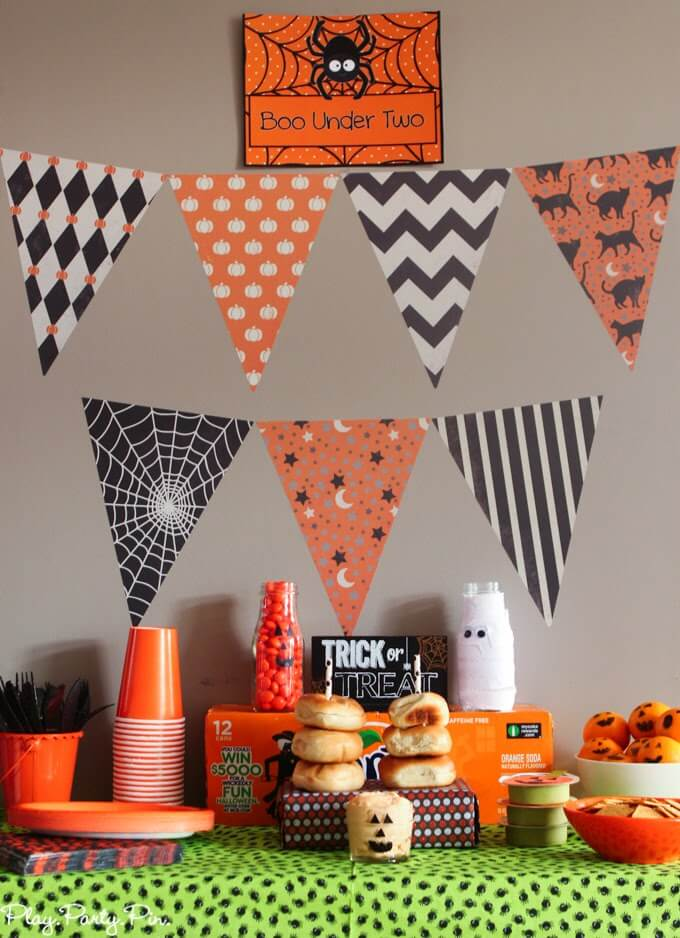 Boo Under Two Halloween party ideas for toddlers