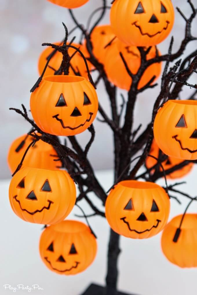 Kids Will Love This Halloween Party Game Idea Where They Pick A Pumpkin  With A Trick