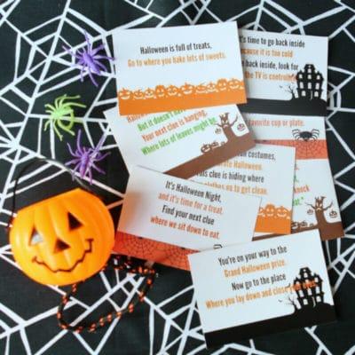 Free Printable Halloween Scavenger Hunt