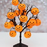 Halloween Trick or Treat Tree Party Game
